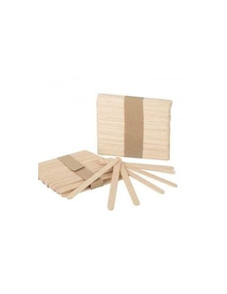 Spatule din lemn mici pentru epilat 100buc