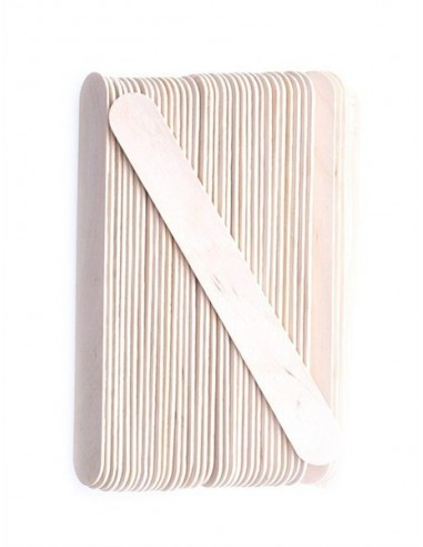RSpatula lemn pentru ceara sterila 100 Buc-Roial