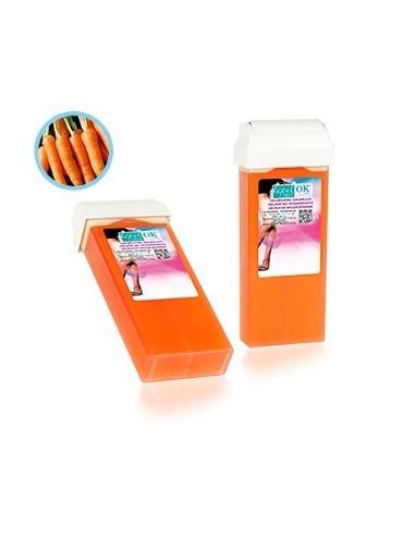 O ceară transparentă, de culoare portocalie, cu parfum de morcov.  Conține ulei de morcov cu caroten.  Bogat în vitamina E, care