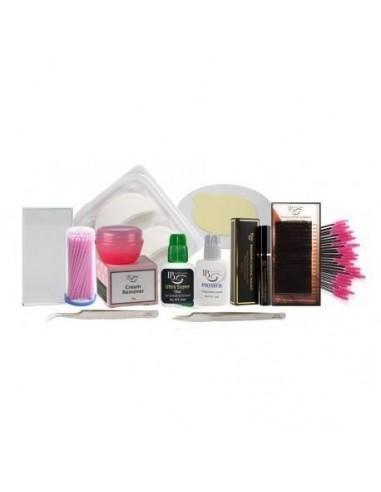 Kit pentru extensii de gene Ibeauty Extra Full