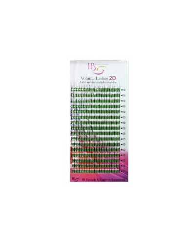 Extensii de gene Ibeauty 2D  MIX - curbura CC