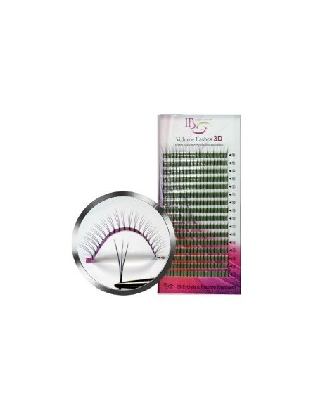 Extensii de gene Ibeauty Mix 3D curbura  D 0.10