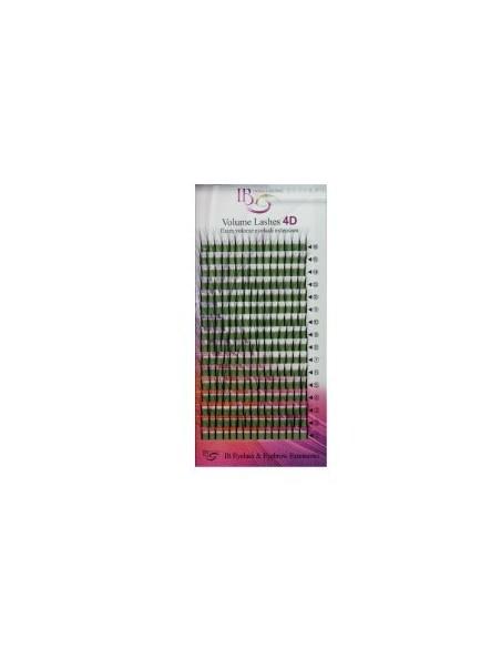 Extensii de gene Ibeauty Mix 4D curbura D 0.10