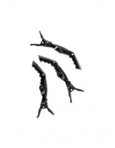 Set 6 clipsuri negre Coccodrillo