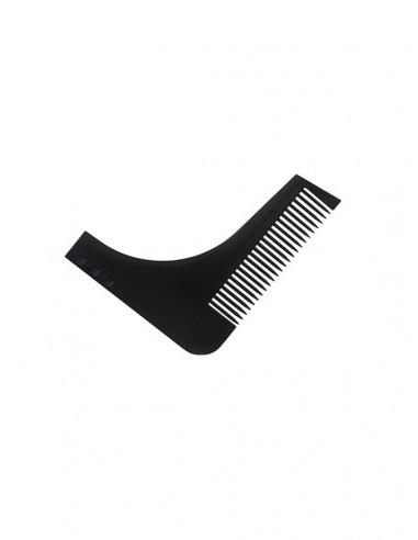 Sablon barba cu pieptene