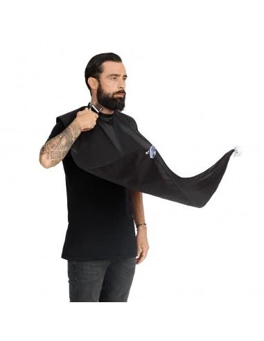 Pelerina pentru tuns barba la oglinda