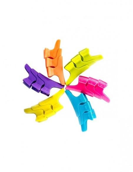 Set 36 clipsuri multicolore