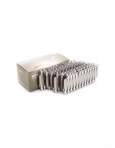 Clipsuri pentru par aluminiu 144buc