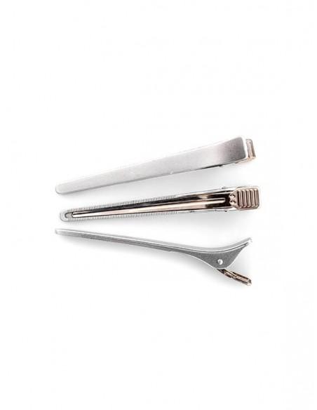 Clipsuri pentru par din plastic și aluminiu