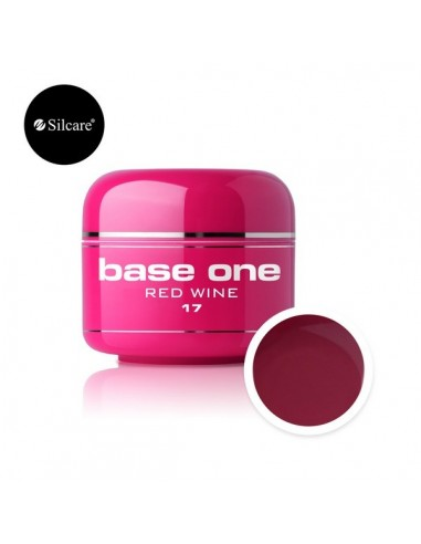 Gel uv Base One Color Red Wine 5g