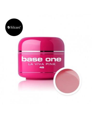 Gel uv Base One Color La Viva Pink 5g
