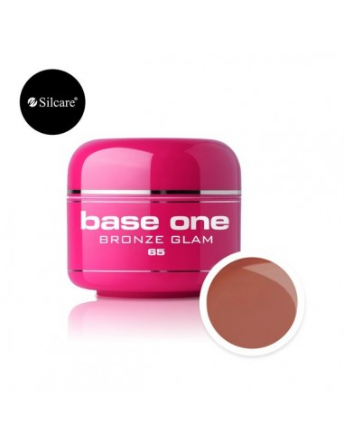 Gel uv Color Base One Silcare Clasic Bronze Glam